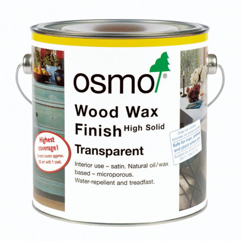 Wood Wax Finish Transparent